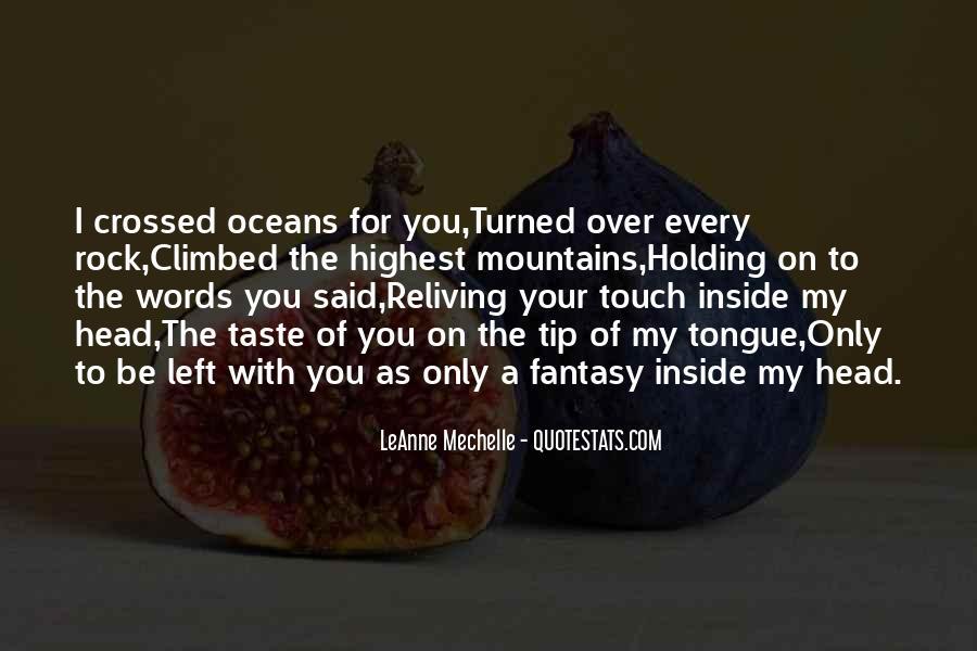 Taste You Quotes #157371