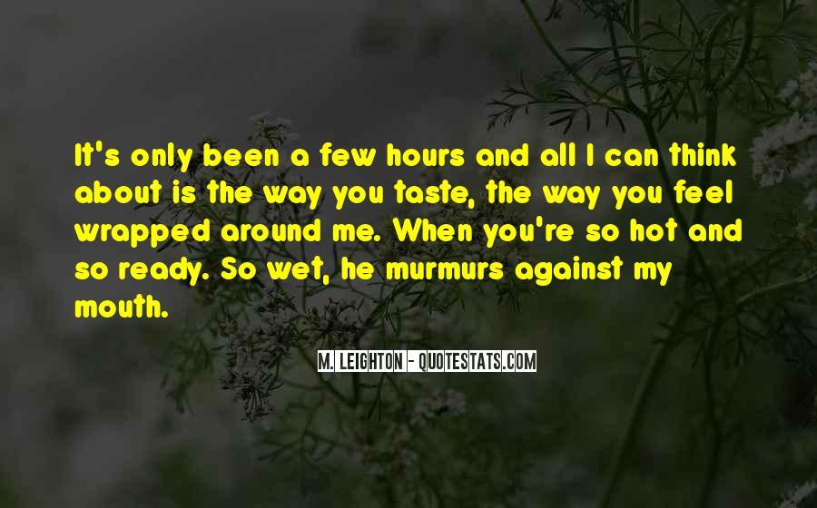 Taste You Quotes #91524