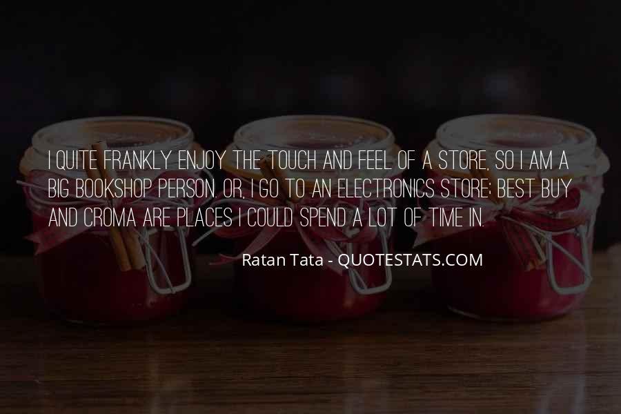 Tata's Quotes #1027488