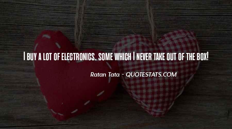 Tata's Quotes #1532778