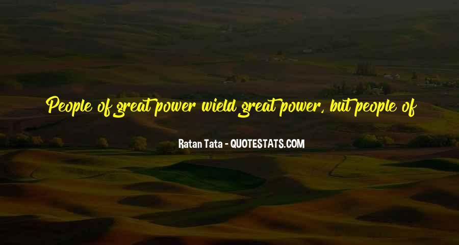 Tata's Quotes #1576425