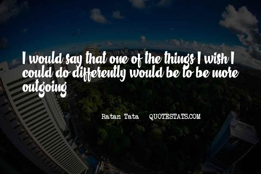 Tata's Quotes #1823496