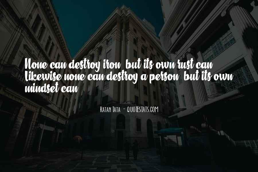 Tata's Quotes #270780
