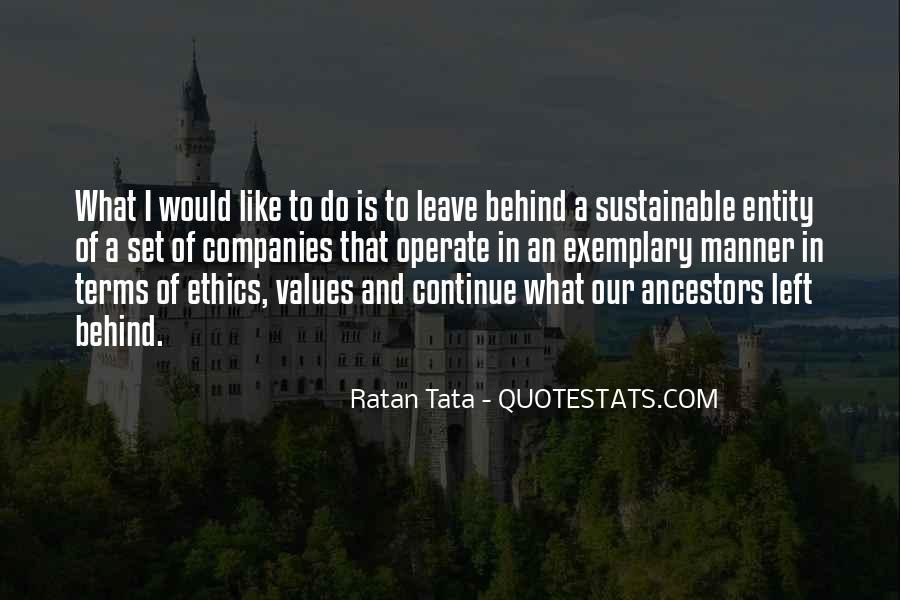 Tata's Quotes #345728