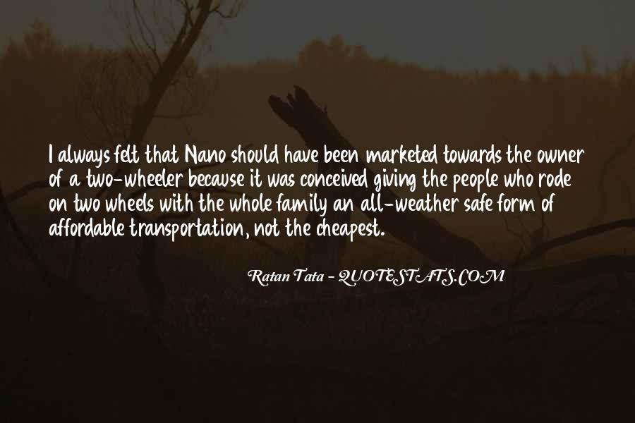 Tata's Quotes #463028