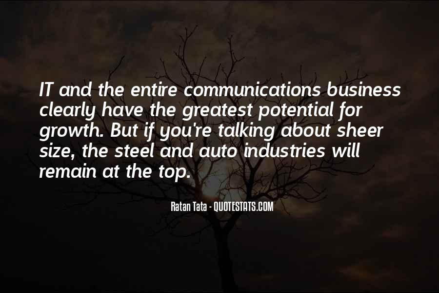 Tata's Quotes #517006