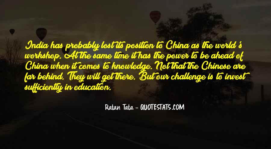 Tata's Quotes #533475