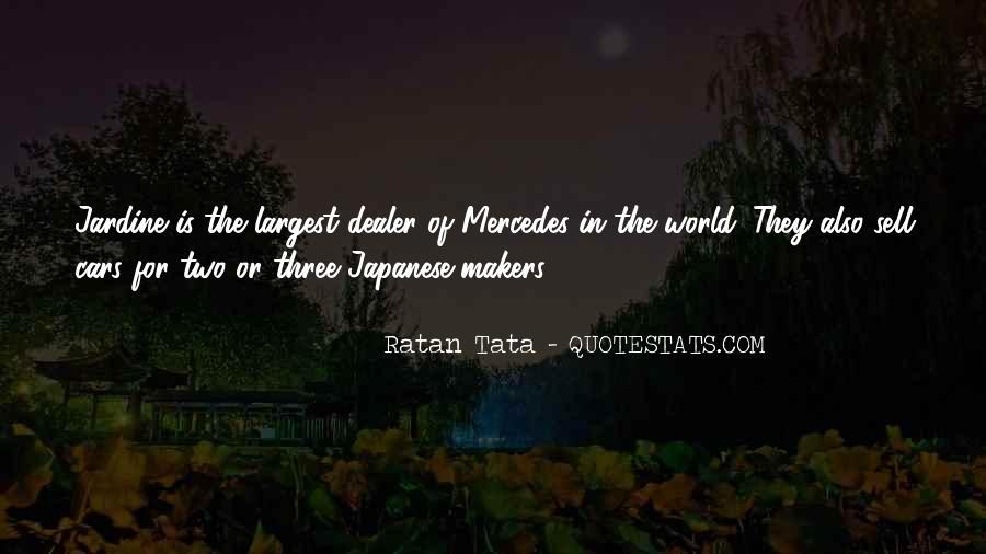 Tata's Quotes #610198