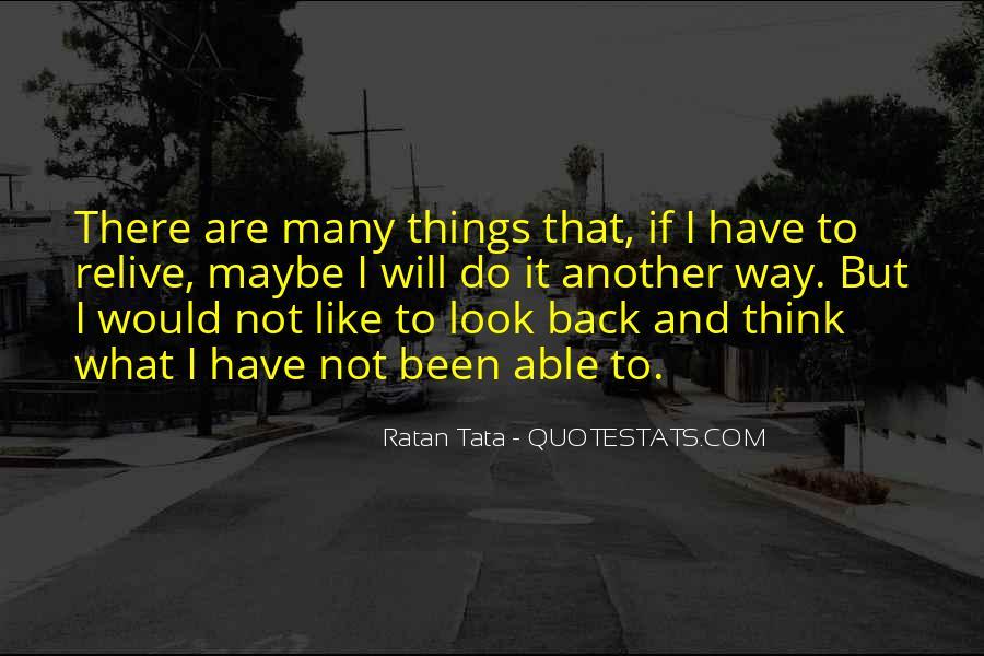 Tata's Quotes #658653