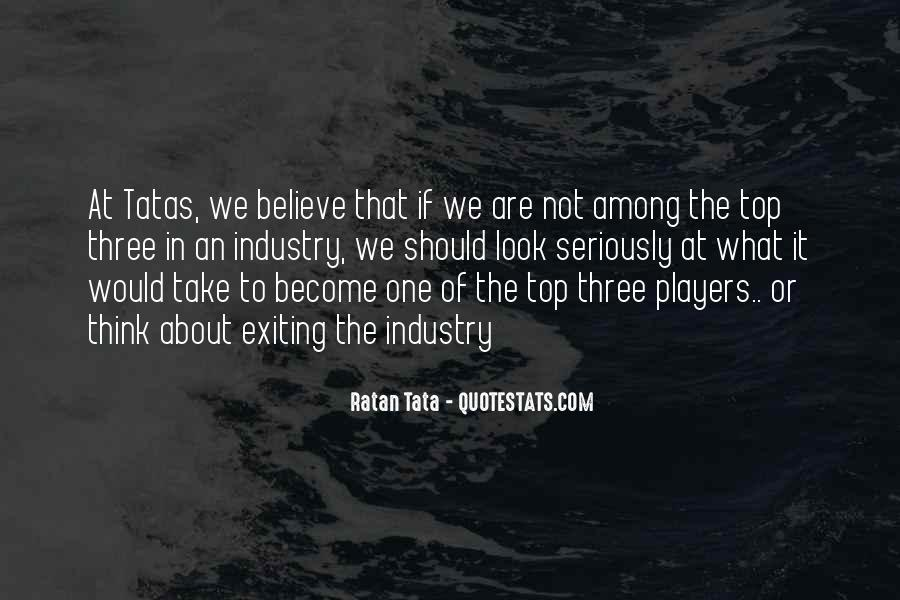 Tata's Quotes #659170