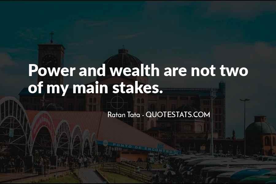 Tata's Quotes #752950