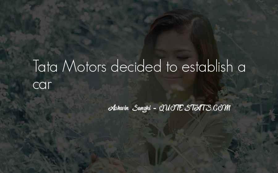 Tata's Quotes #801974