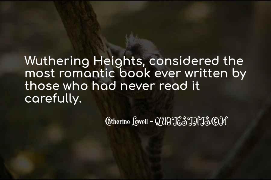 Quotes About Heathcliff #1871921
