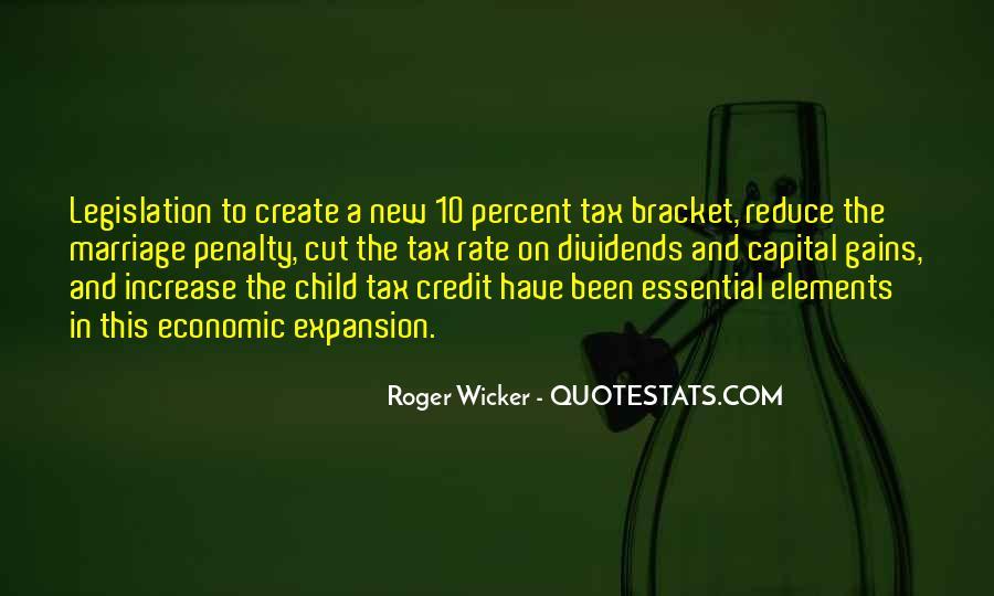 Tax Bracket Quotes #1667513