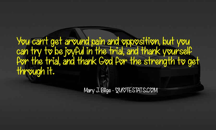 Quotes About Strength Pain #1030509