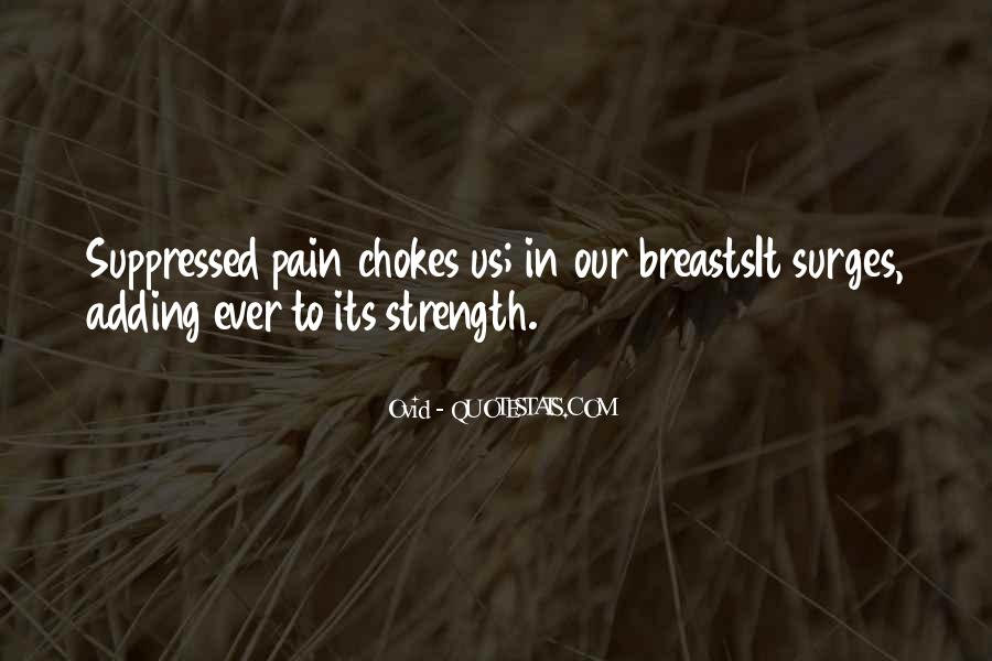 Quotes About Strength Pain #1087762
