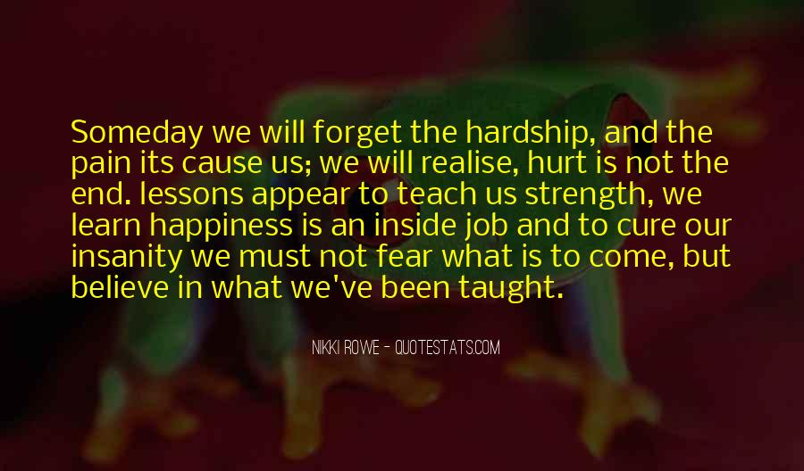 Quotes About Strength Pain #160597
