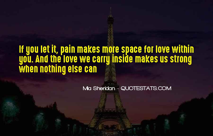 Quotes About Strength Pain #270381
