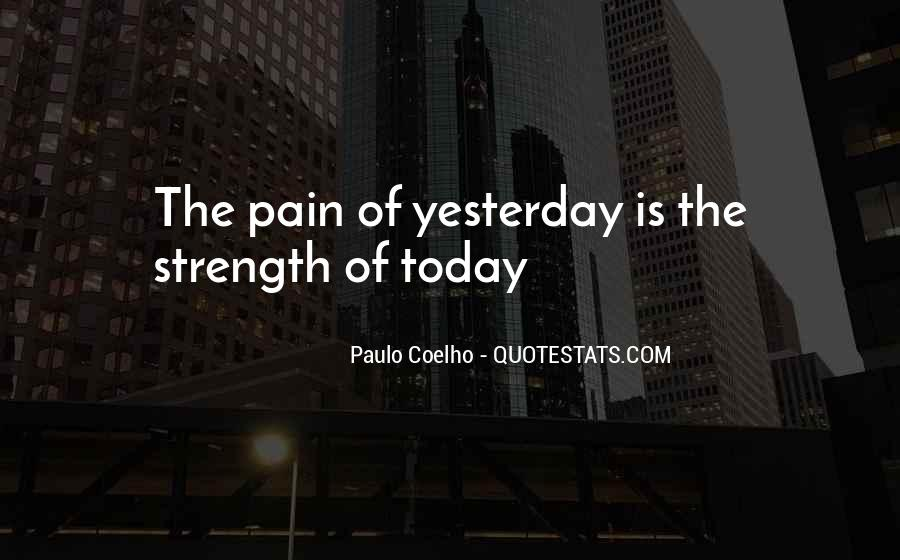 Quotes About Strength Pain #29876