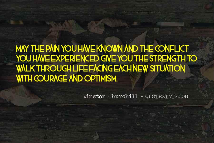 Quotes About Strength Pain #338643