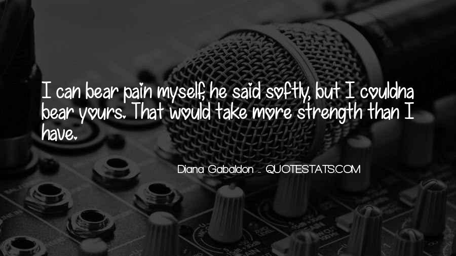 Quotes About Strength Pain #373874