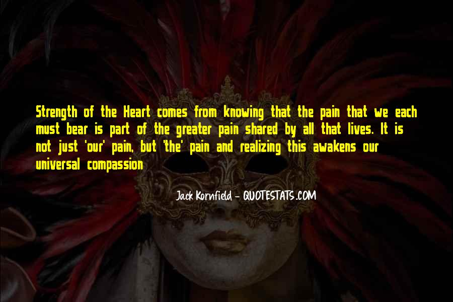 Quotes About Strength Pain #387913
