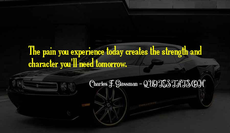 Quotes About Strength Pain #451445