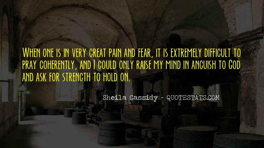 Quotes About Strength Pain #586603