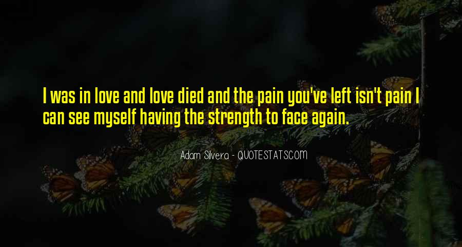 Quotes About Strength Pain #603159