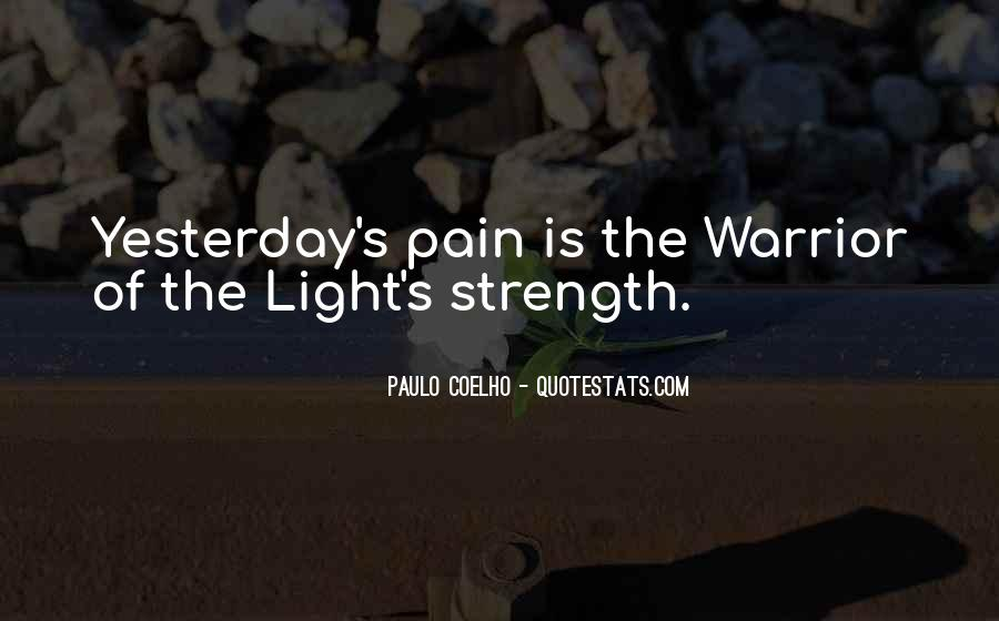 Quotes About Strength Pain #650444
