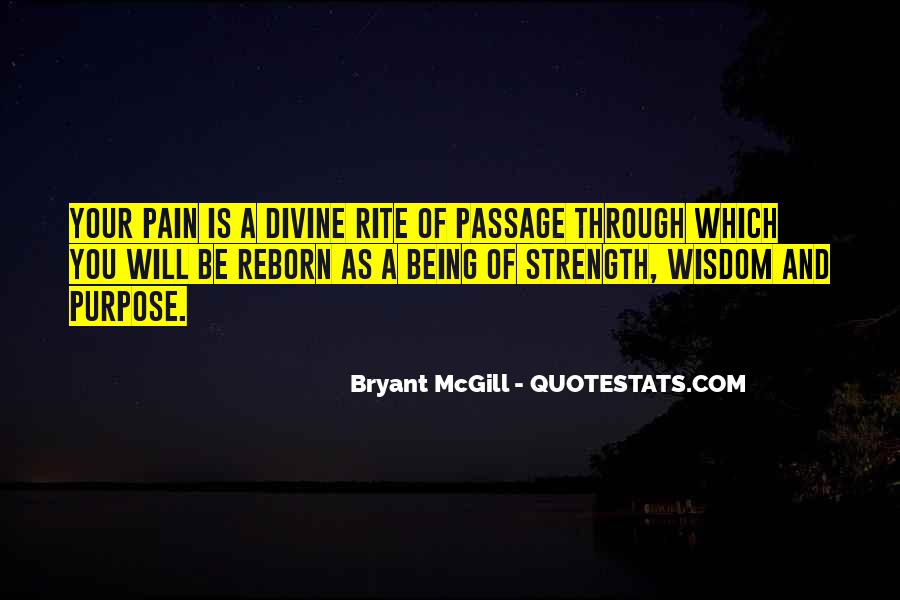 Quotes About Strength Pain #661915