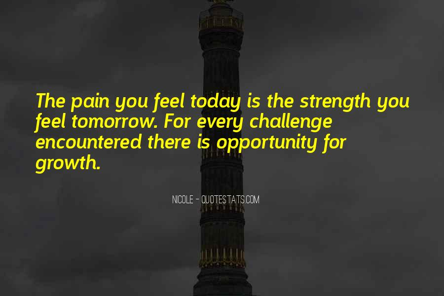 Quotes About Strength Pain #699261