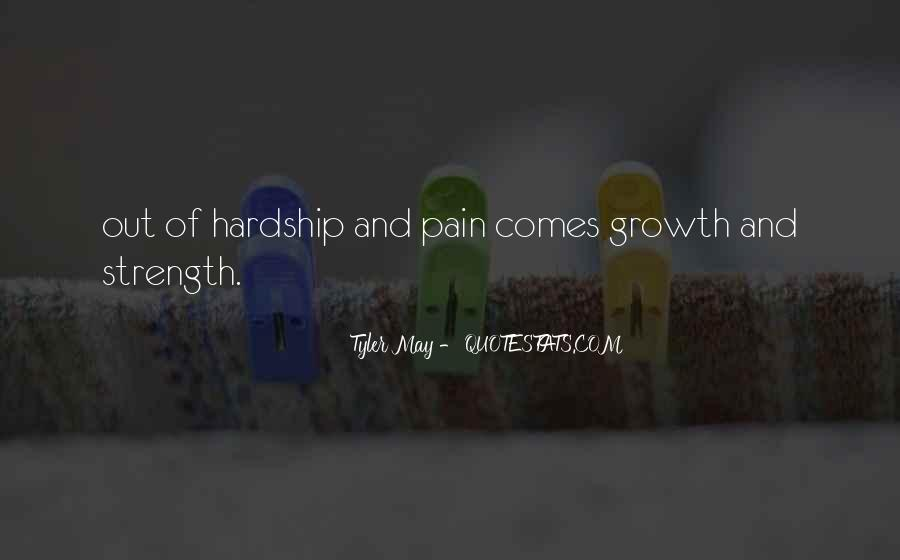Quotes About Strength Pain #719878