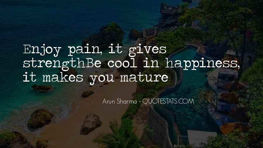 Quotes About Strength Pain #756664