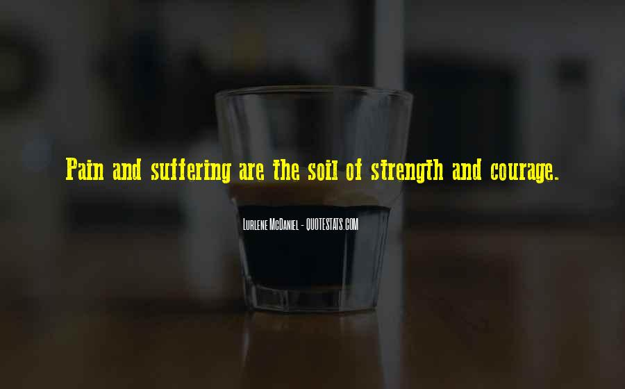 Quotes About Strength Pain #790949