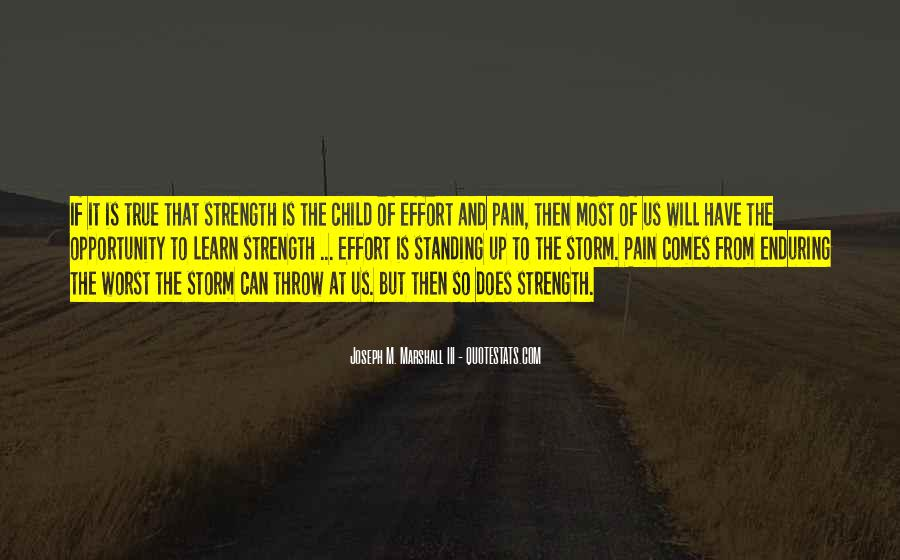 Quotes About Strength Pain #794787