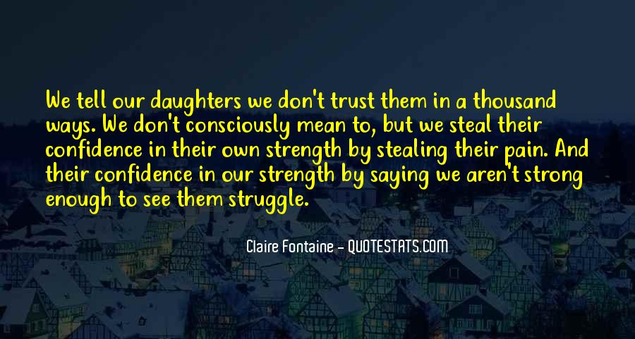 Quotes About Strength Pain #851421