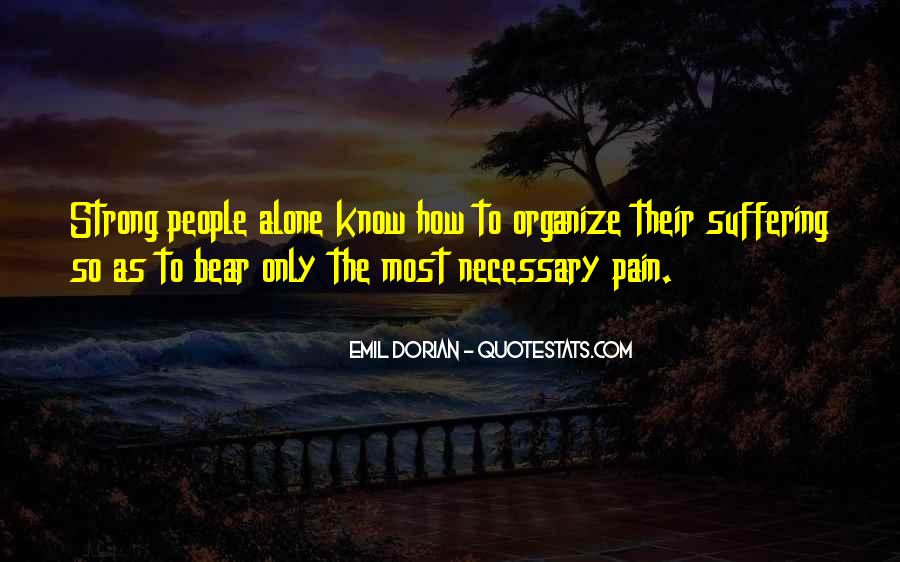 Quotes About Strength Pain #865439