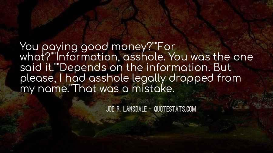 Quotes About Asshole #202680