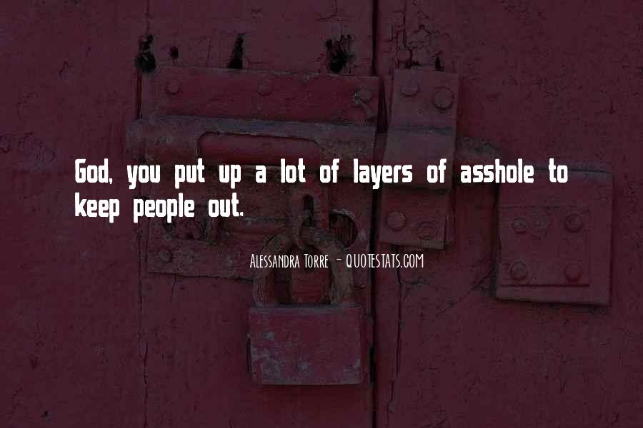Quotes About Asshole #63508