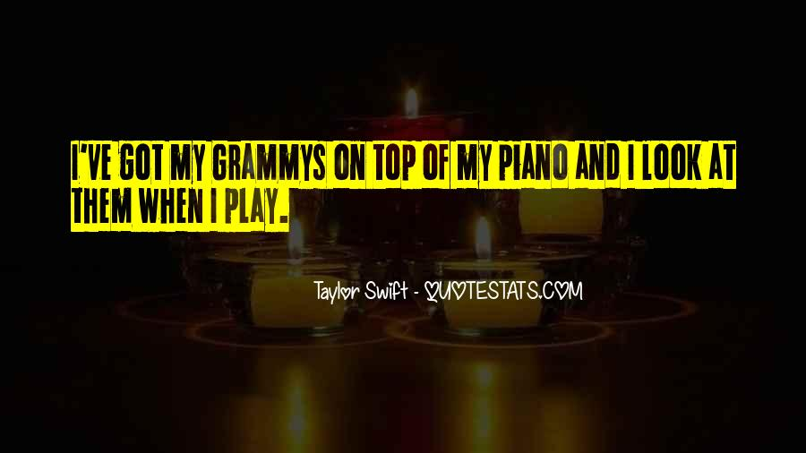 Taylor Swift Grammys Quotes #205534