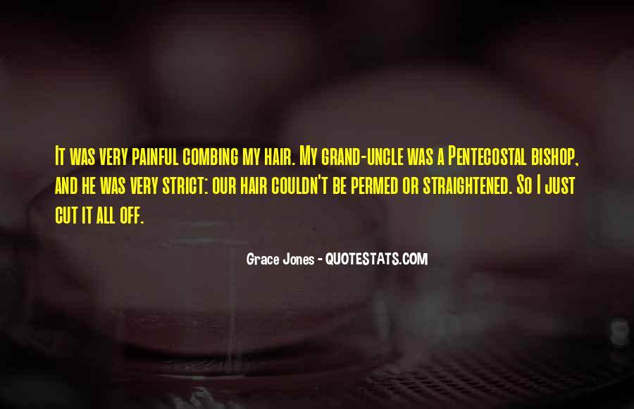 Quotes About Grace Jones #1166184