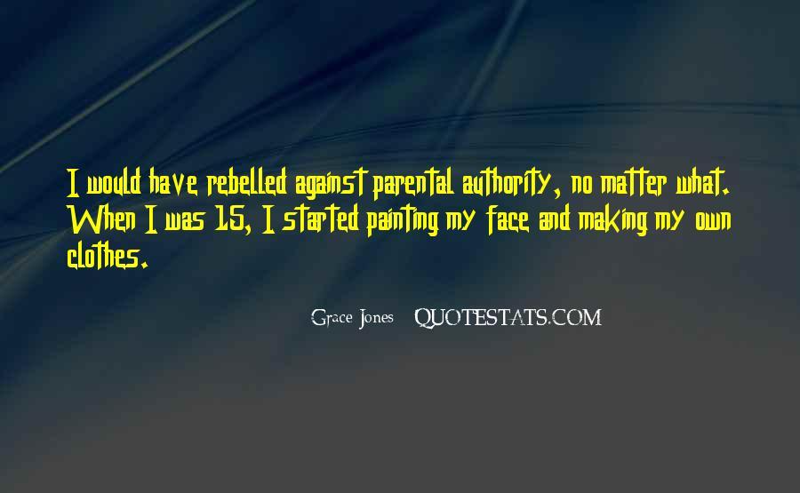Quotes About Grace Jones #1176174