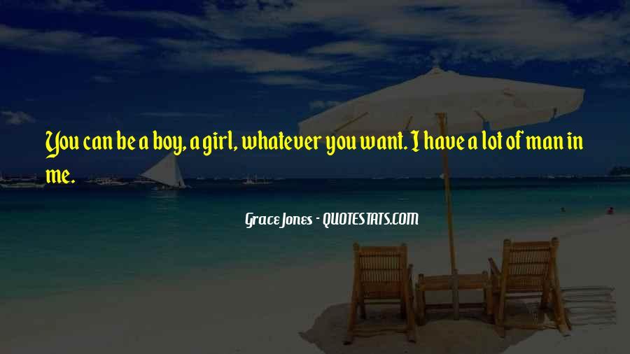 Quotes About Grace Jones #1381682