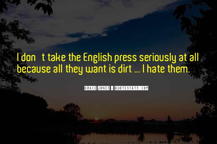 Quotes About Grace Jones #1473802