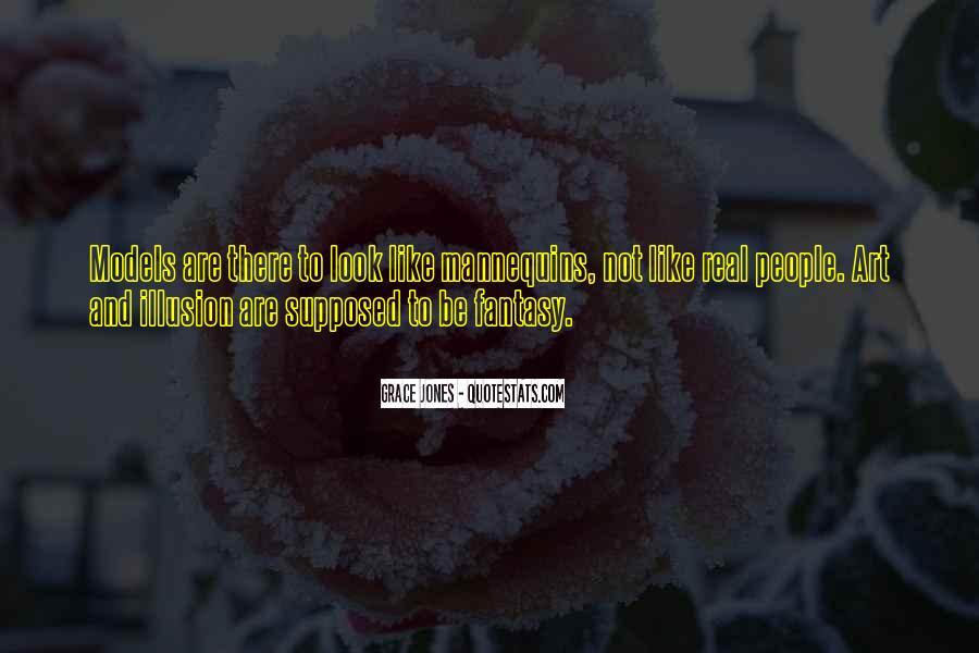 Quotes About Grace Jones #1497816