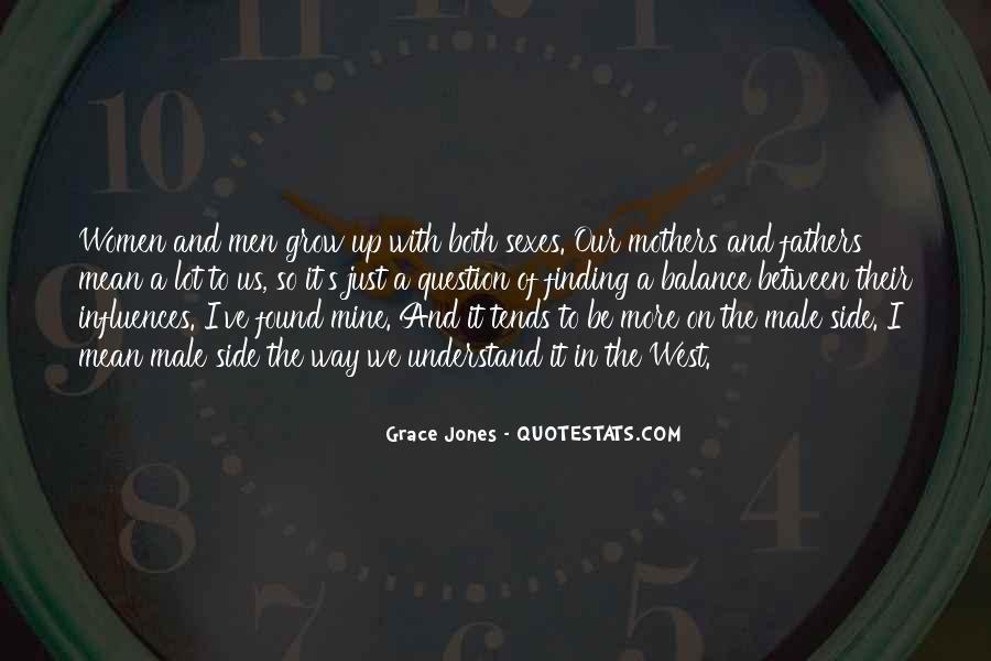 Quotes About Grace Jones #178789