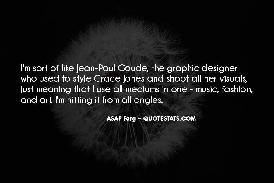 Quotes About Grace Jones #1791965