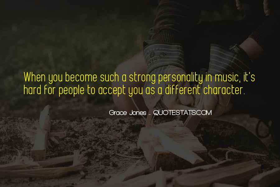 Quotes About Grace Jones #321872