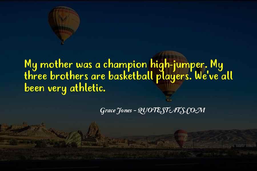 Quotes About Grace Jones #35894